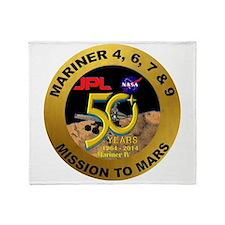 Mariner IV 50Th Annivesary Throw Blanket