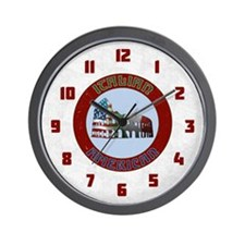 Italian American Coliseum Wall Clock