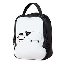 Yaya And Scottish Blackface Neoprene Lunch Bag