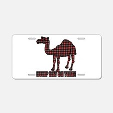 Camel humor 5 Aluminum License Plate
