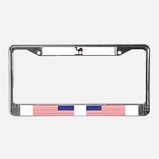 Camel humor 5 License Plate Frame