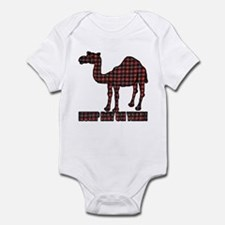 Camel humor 5 Infant Bodysuit