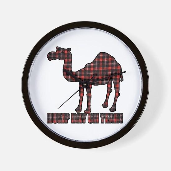 Camel humor 5 Wall Clock