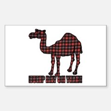 Camel humor 5 Decal