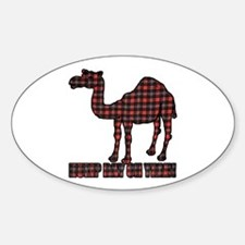 Camel humor 5 Sticker (Oval)
