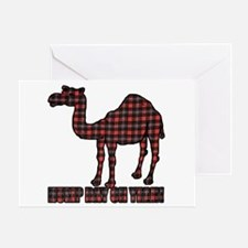 Camel humor 5 Greeting Card
