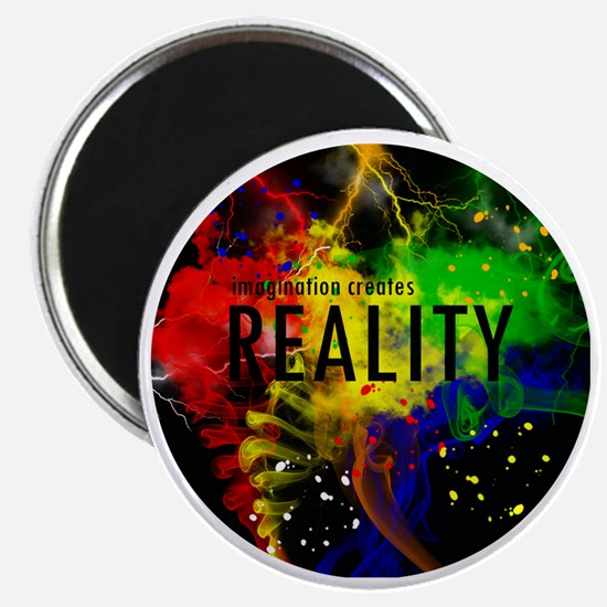 Imagination Creates Reality Magnet
