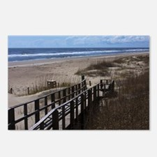 North Carolina Beach Walk Postcards (Package of 8)