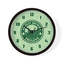 New York Irish American Wall Clock