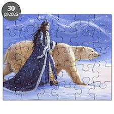 SNOW PRINCESS_CARD Puzzle
