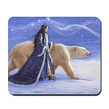 SNOW PRINCESS_CARD Mousepad