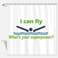 Ifly.Png Shower Curtain