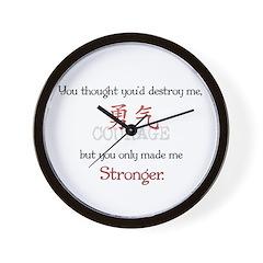 Stronger Wall Clock