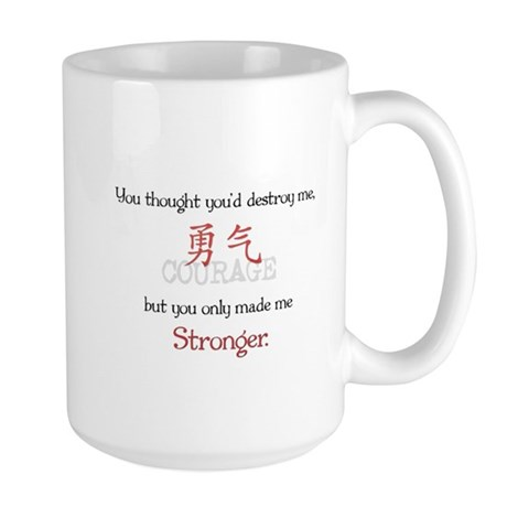 Stronger Large Mug
