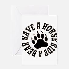 Gay Bear Bear pride Save a Horse Ride a Bear Greet