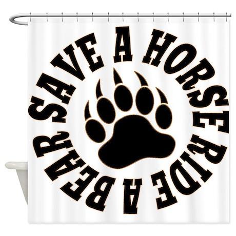 Gay Bear Bear pride Save a Horse Ride a Bear Showe