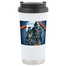 Haunted HouseYardsign Travel Mug