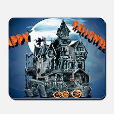 Haunted HouseYardsign Mousepad