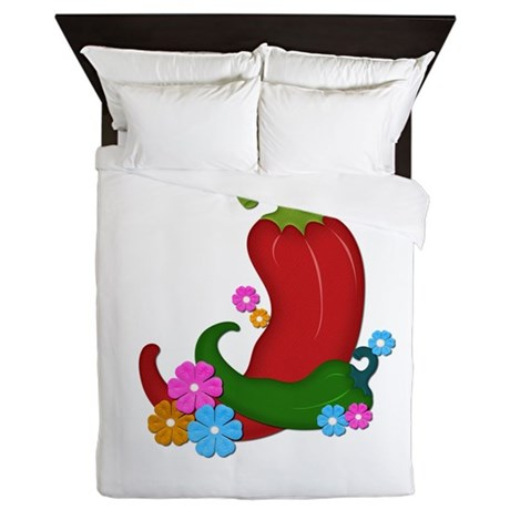 Chili U[p Queen Duvet