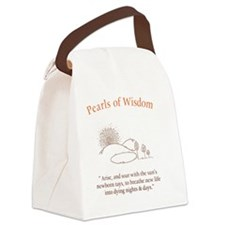 allama front.eps Canvas Lunch Bag