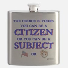 Citizen or subject Flask
