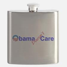 Obama Doesnt Care Flask