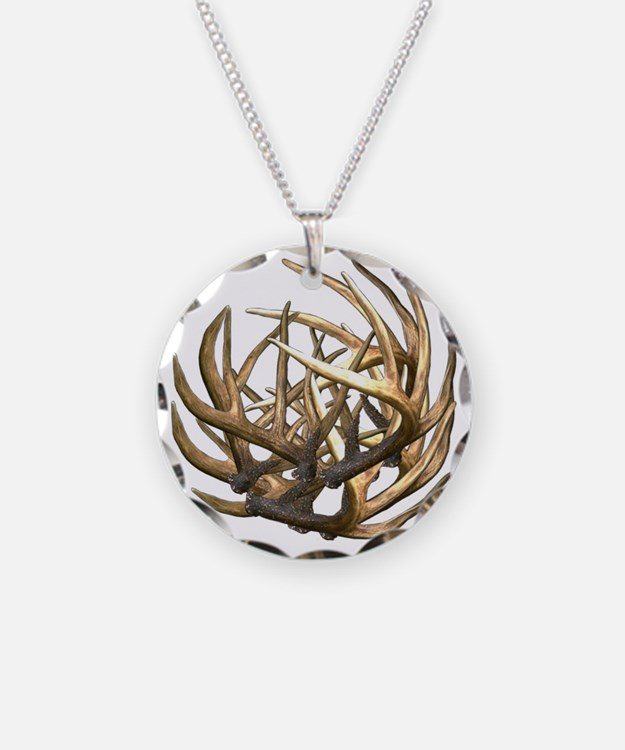 Whitetail Buck Deer Antler A Necklace