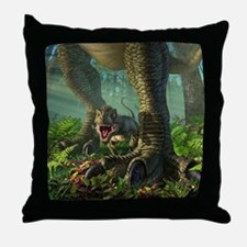 Wee Rex Throw Pillow