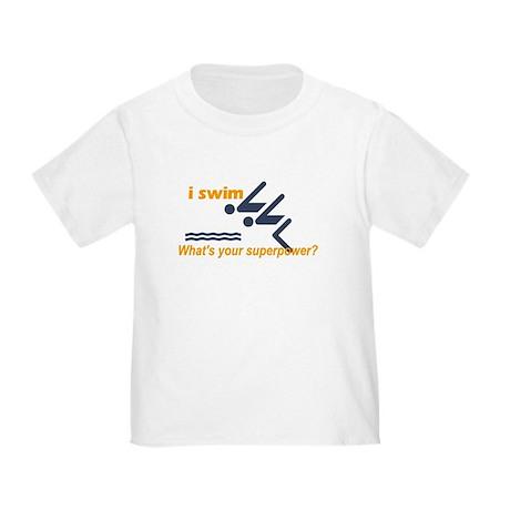 Swimmer Toddler T-Shirt