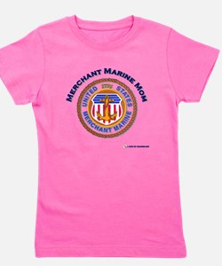 2-merchant Marine mom.png Girl's Tee