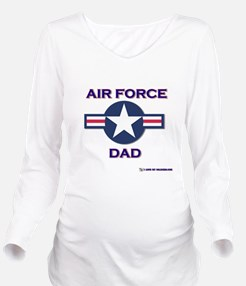 AIR FORCE DAD.png Long Sleeve Maternity T-Shirt