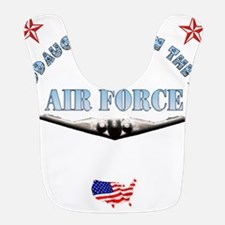 air force granddaughter.png Bib