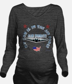 air force Son.png Long Sleeve Maternity T-Shirt