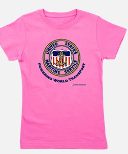 Maritime Svc powering transport.png Girl's Tee