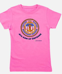 merchant Marine 4th arm.png Girl's Tee