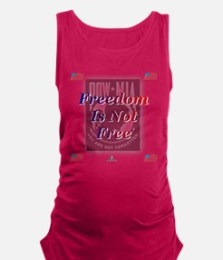pow freedom.png Maternity Tank Top