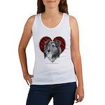 Sheltie Heart Women's Tank Top