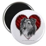 Sheltie Heart Magnet
