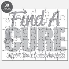 Brain-Cancer-Find-A-Cure-blk Puzzle