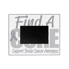 Brain-Cancer-Find-A-Cure-blk Picture Frame