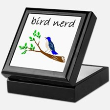 bird nerd Keepsake Box