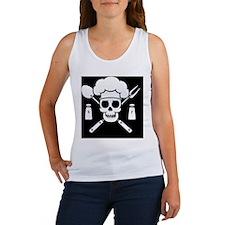 chef-pirate-TIL Women's Tank Top