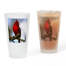 2-Cardinal Drinking Glass