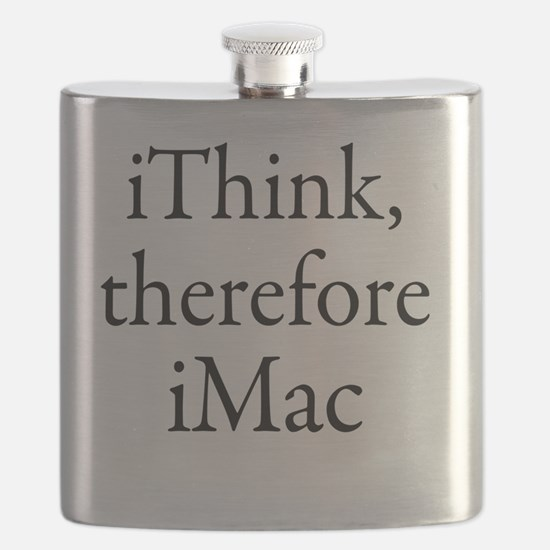 iThink therefore iMac Retro Flask