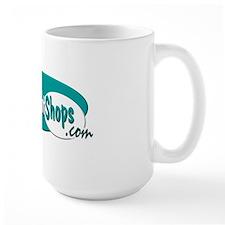 consignmentshopslogobigforblack Mug