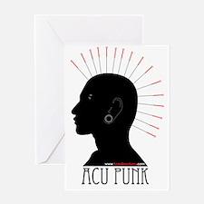 acupunk3Xlarge Greeting Card