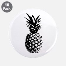 """Pineapple 3.5"""" Button (10 pack)"""