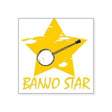 Banjo Star Sticker