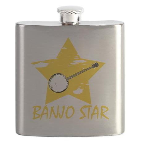 Banjo Star Flask