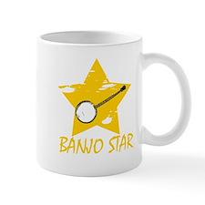 Banjo Star Mugs